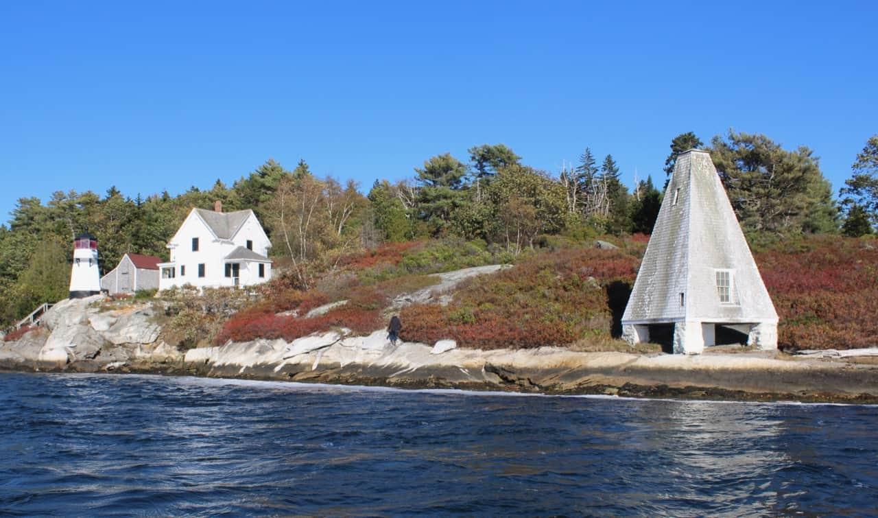 Lighthouse near Georgetown Maine 1