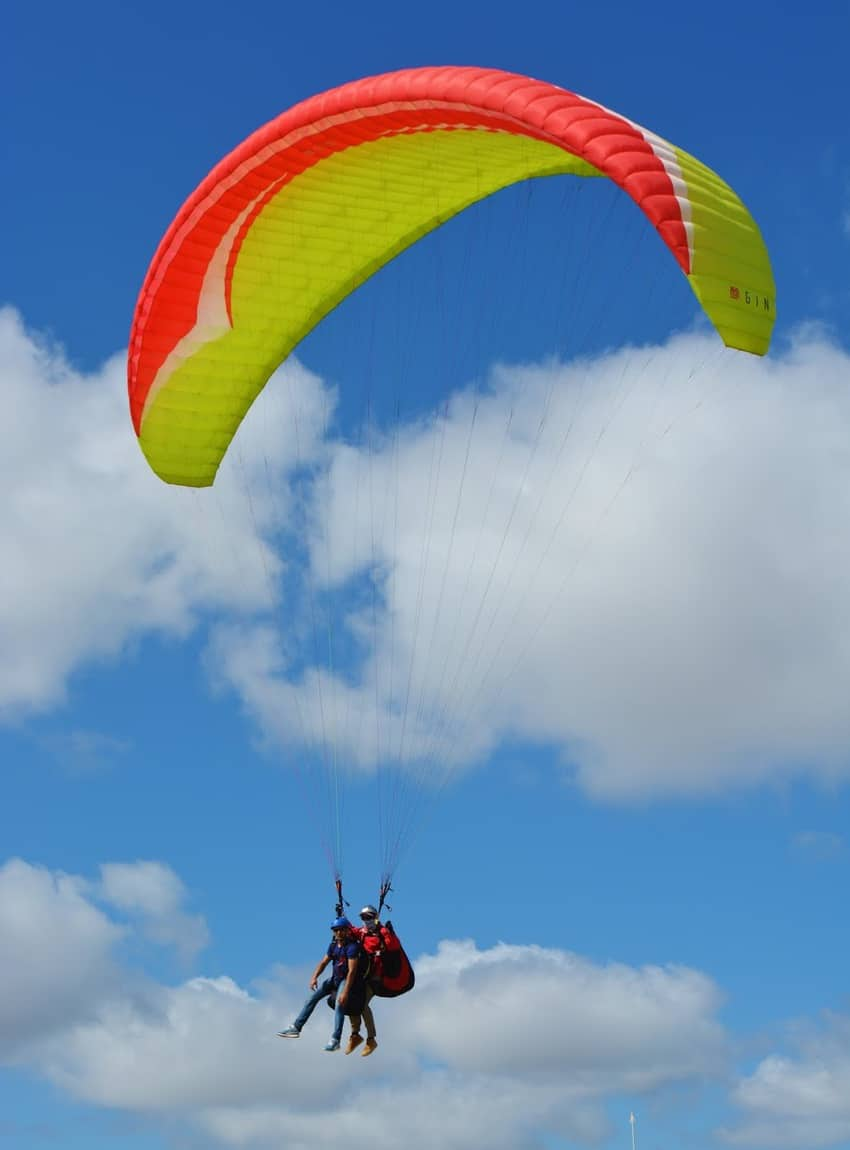 Paragliding at Torrey Pines Gliderport