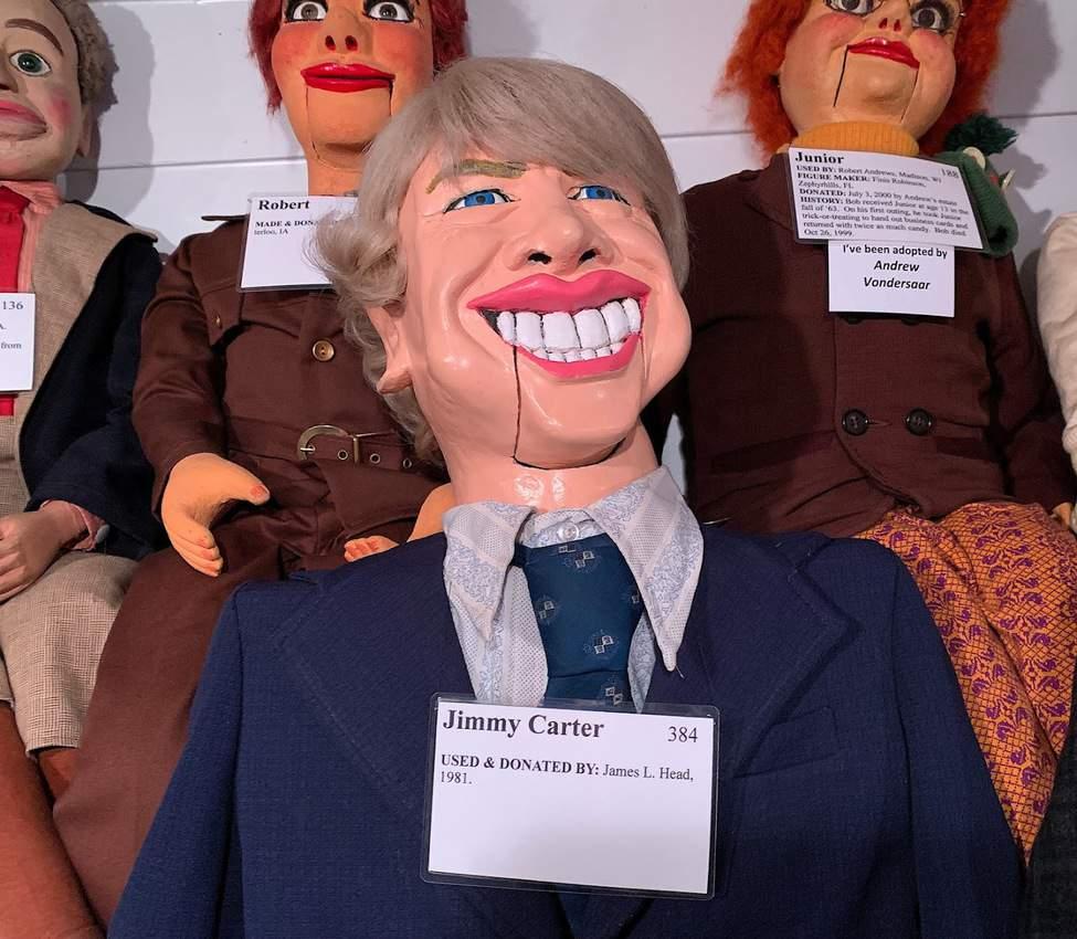 President Jimmy Carter dummy