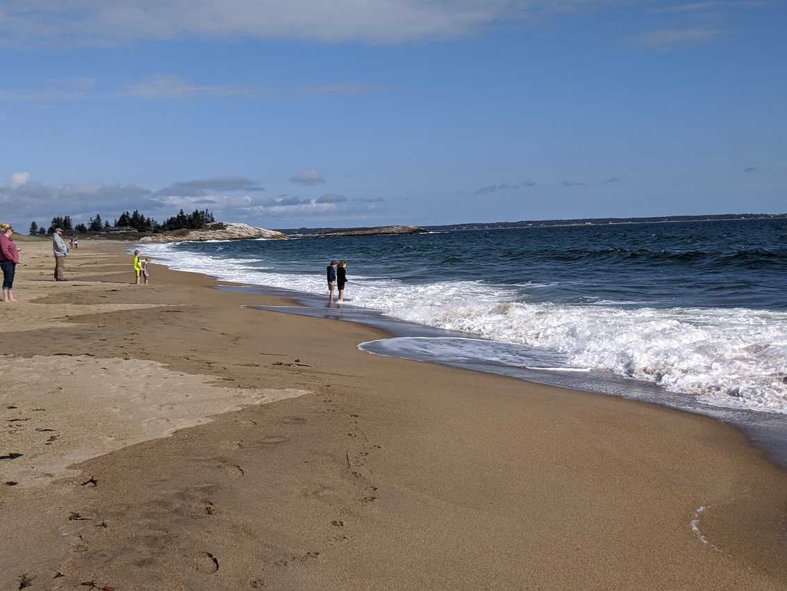 Reid State Park beach and dog lovers