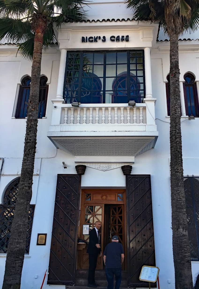 """Rick's Café occupies a renovated riad, a 1930s mansion made to look like the movie version of the World War II-era café in the classic film, """"Casablanca."""""""
