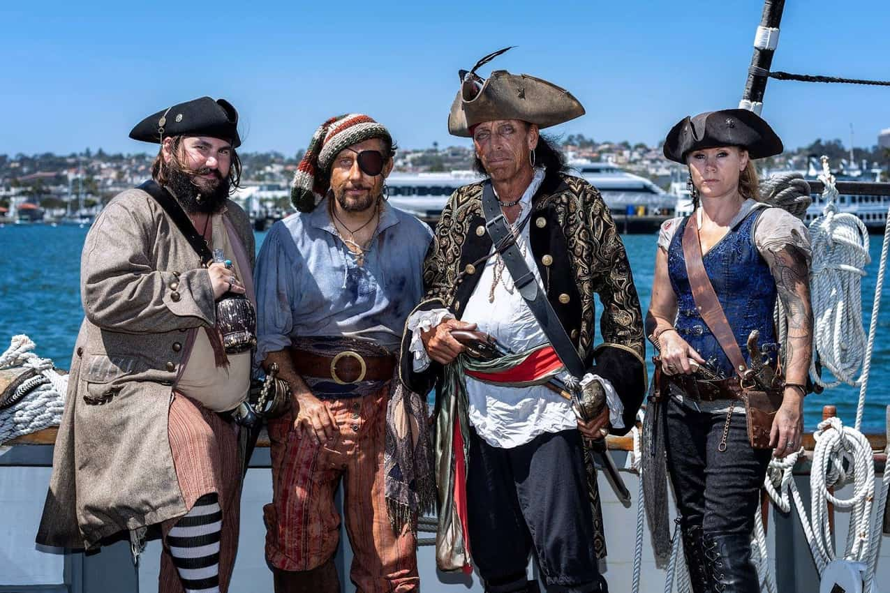 San Diego Pirates Courtesy of Maritime Museum