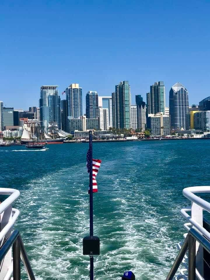 San Diego from Hornblower Cruise