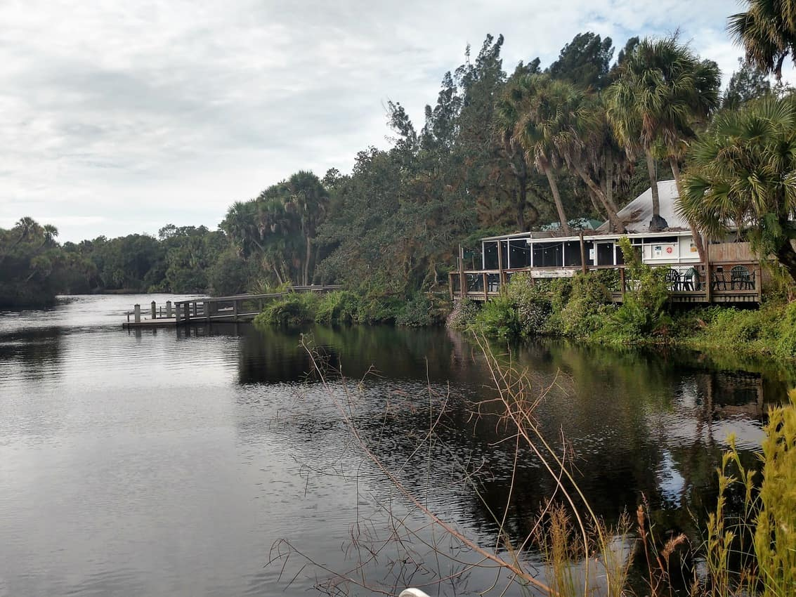 Snook Haven began as a place to drink your fill during Prohibition but is now a popular restaurant on the Myakka River, the first-ever river to receive designation as a Wild and Scenic River by the state of Florida.