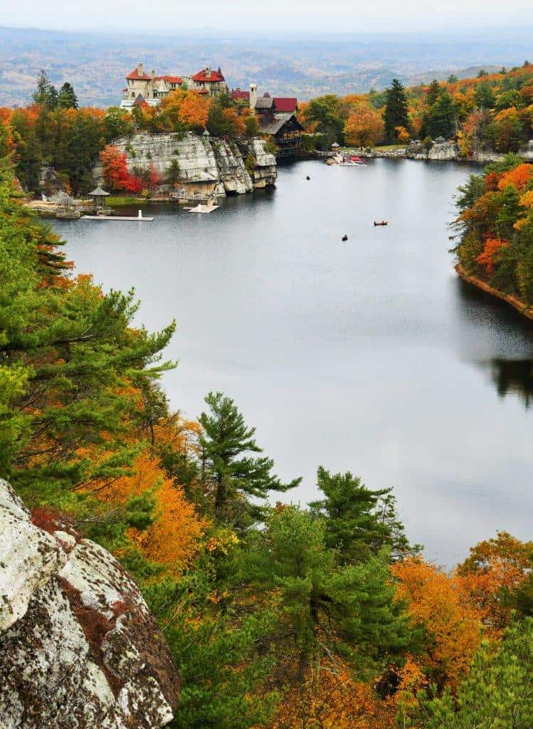 Mohonk Eagle Cliff View