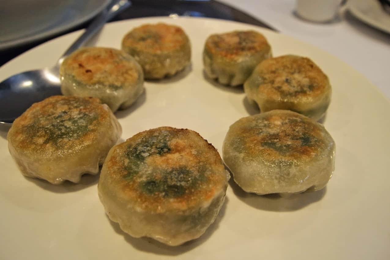 Dim sum dumplings are part of the tour. A tasty finish!