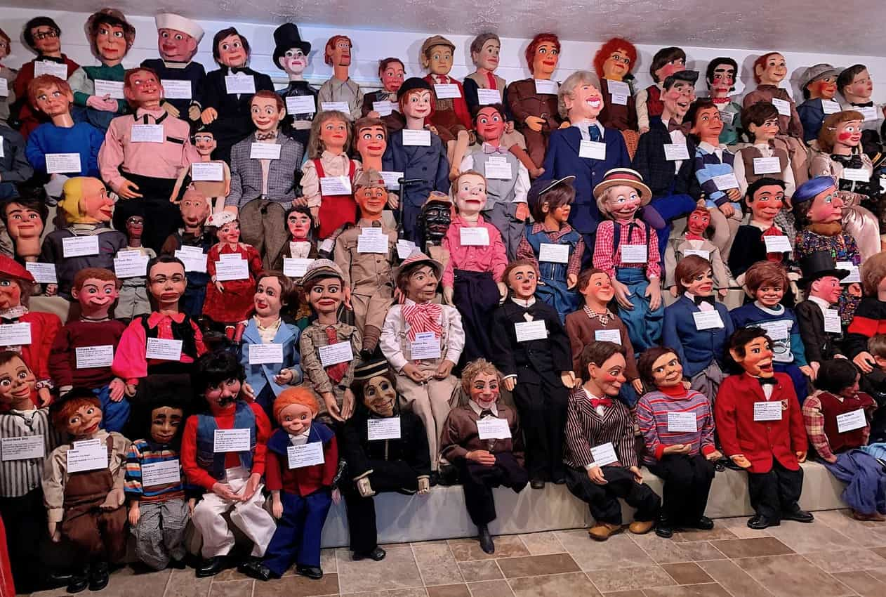 Hundreds of ventriloquist dummies now live at Vent Haven, which is short for Ventriloquist. Jackie Finch photos.