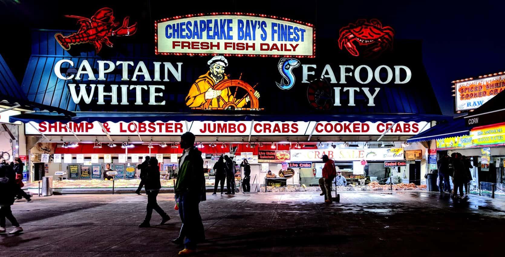 Maine Avenue Fish Market in D.C.