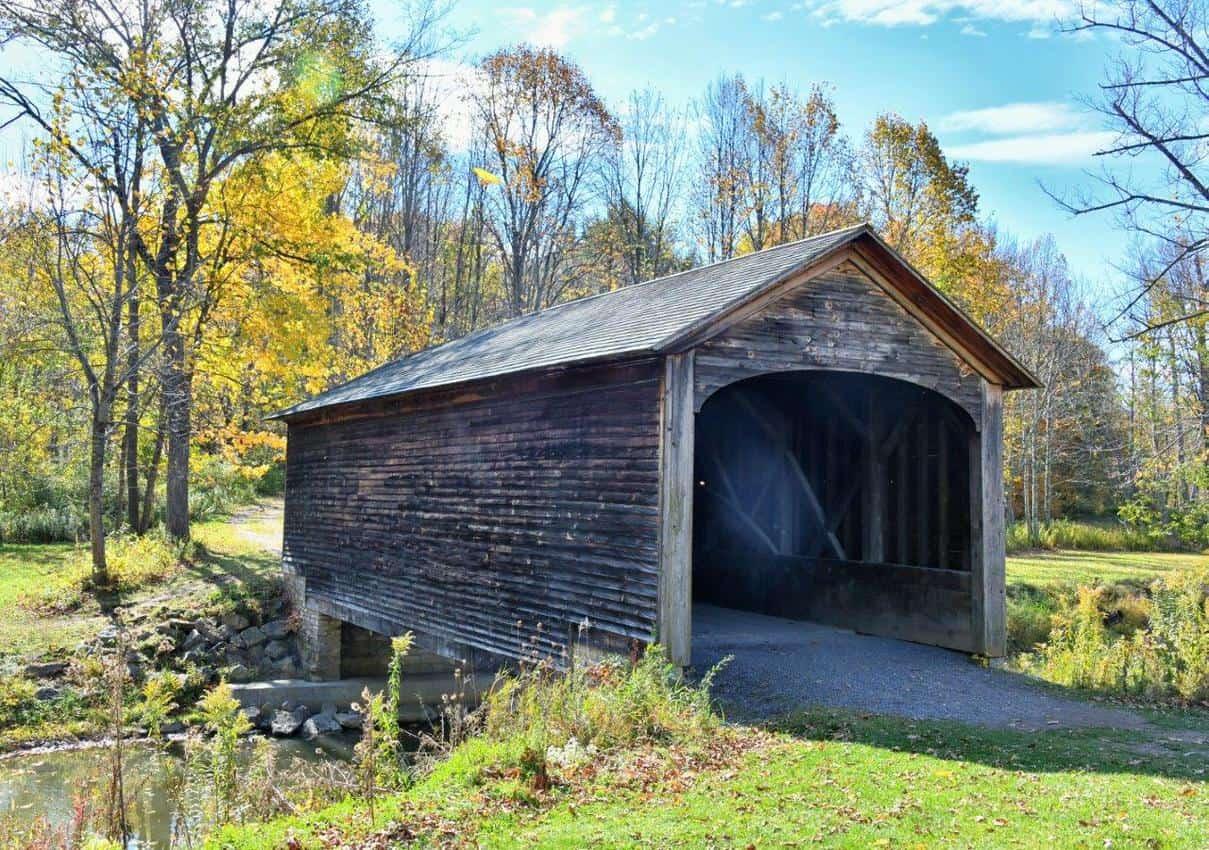 Oldest Covered Bridge Cooperstown