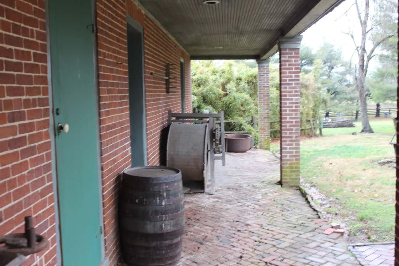Waveland's front porch.
