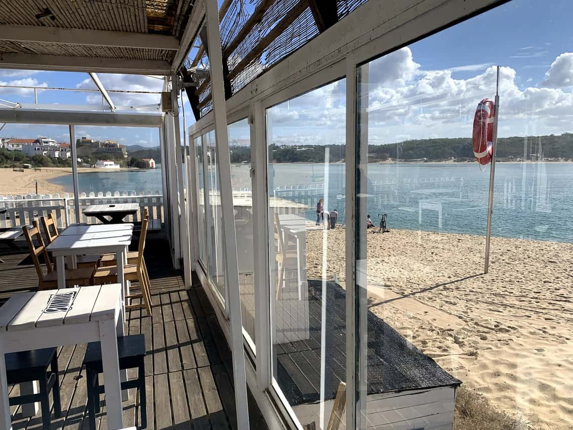 glass enclosed porch on beach