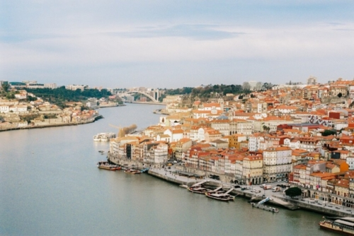 porto from the air