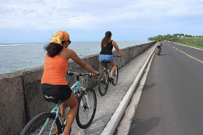 rarotongo bike riding