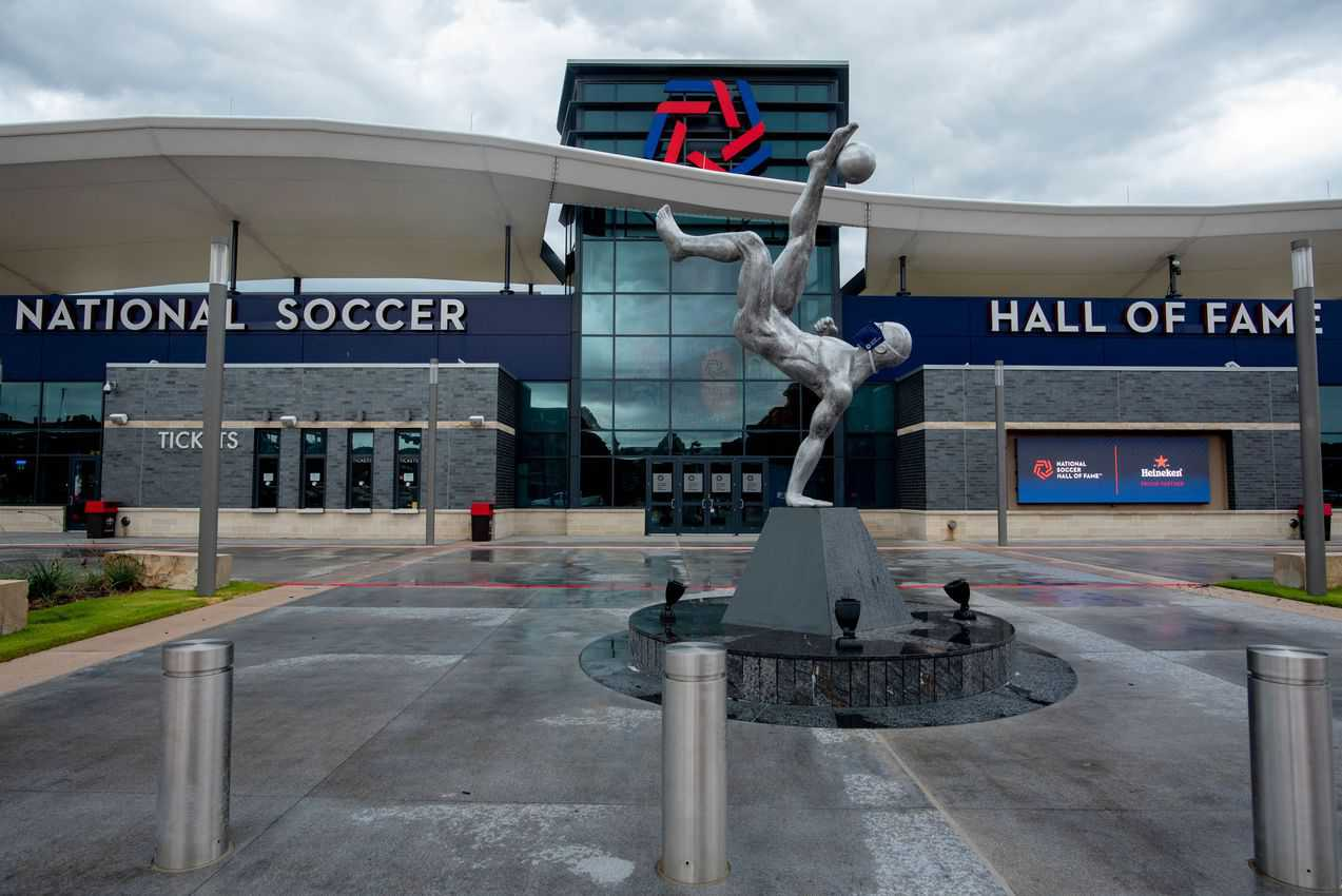 National Soccer Hall of Fame in Frisco, Texas. Fred Mays photo.
