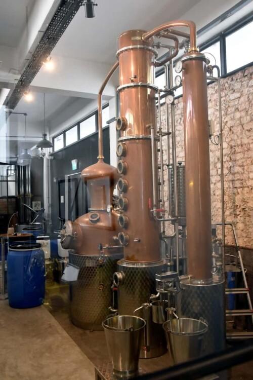 Brass Lion Distillery Singapore.