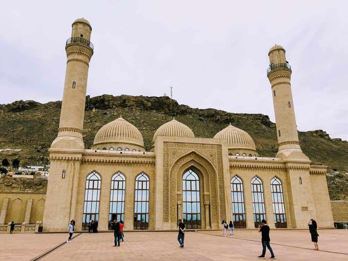 The Bibi-Heybat Mosque minutes outside of a Baku. A beacon of Shia Islamic architecture.