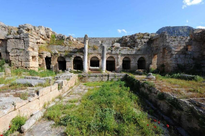 Corinth Peirene Fountain