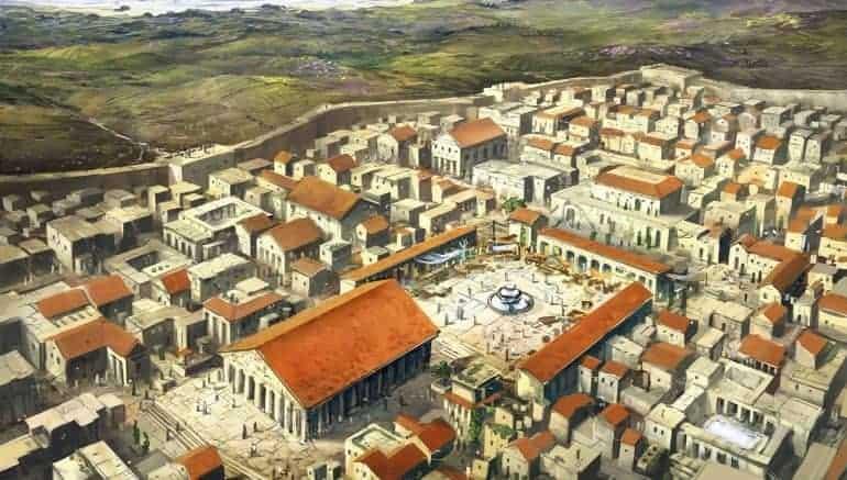 Corinth during Roman times