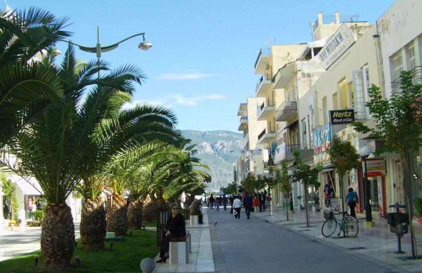 Corinth town street