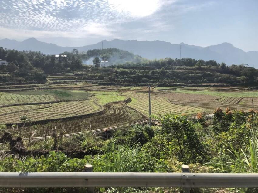 Driving to Zhangjjajie