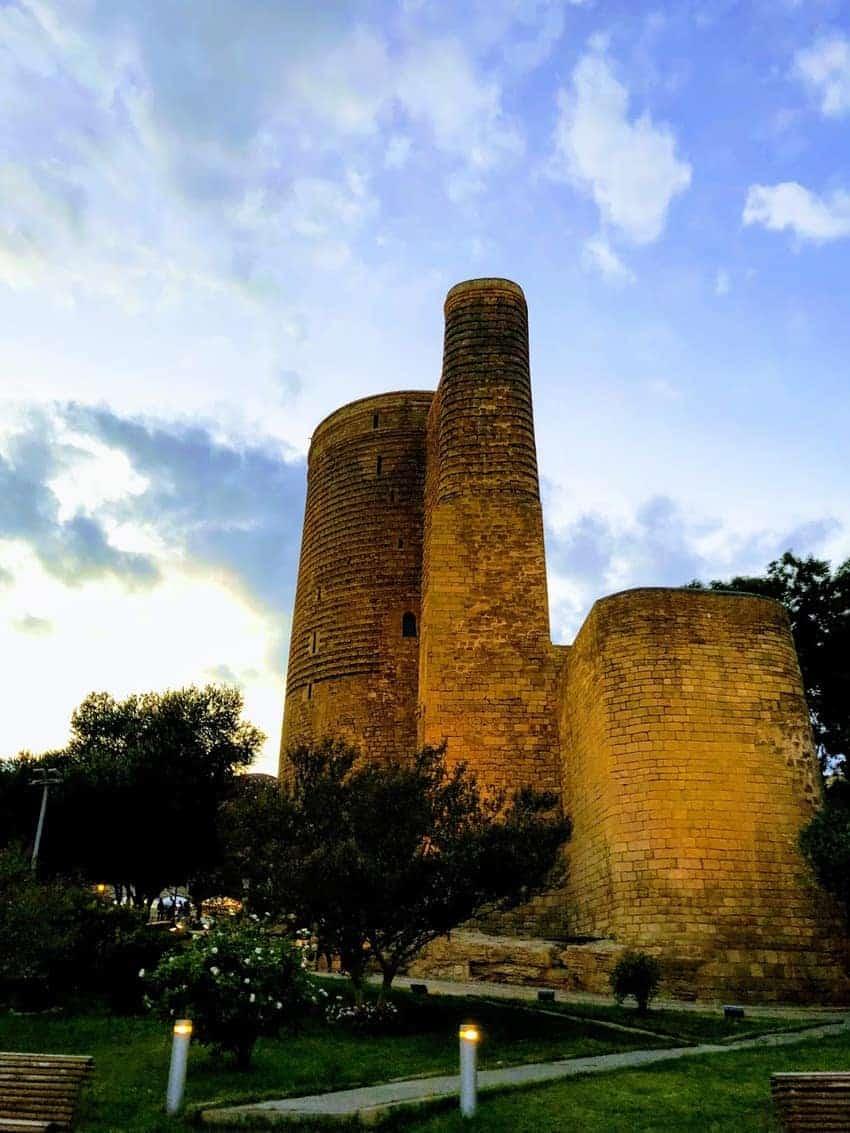 The Maiden Tower in Baku.