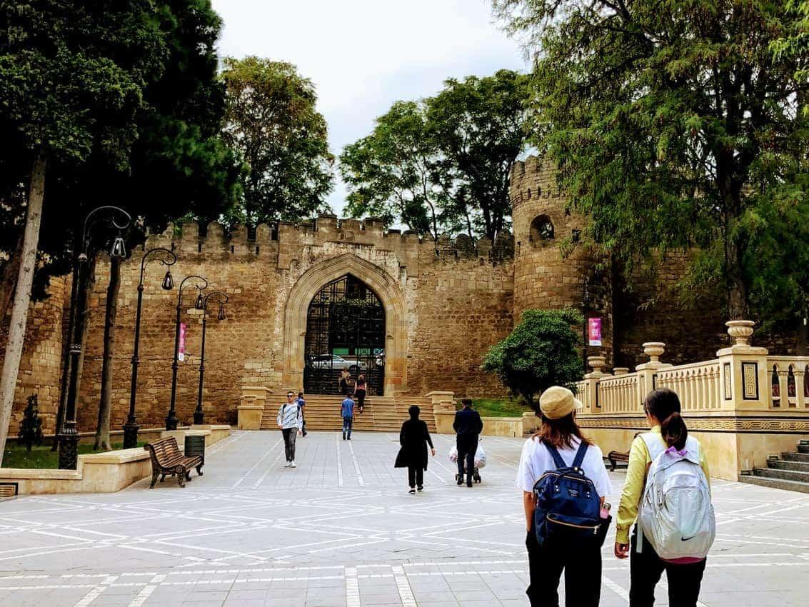 Original Gate to Old City Baku