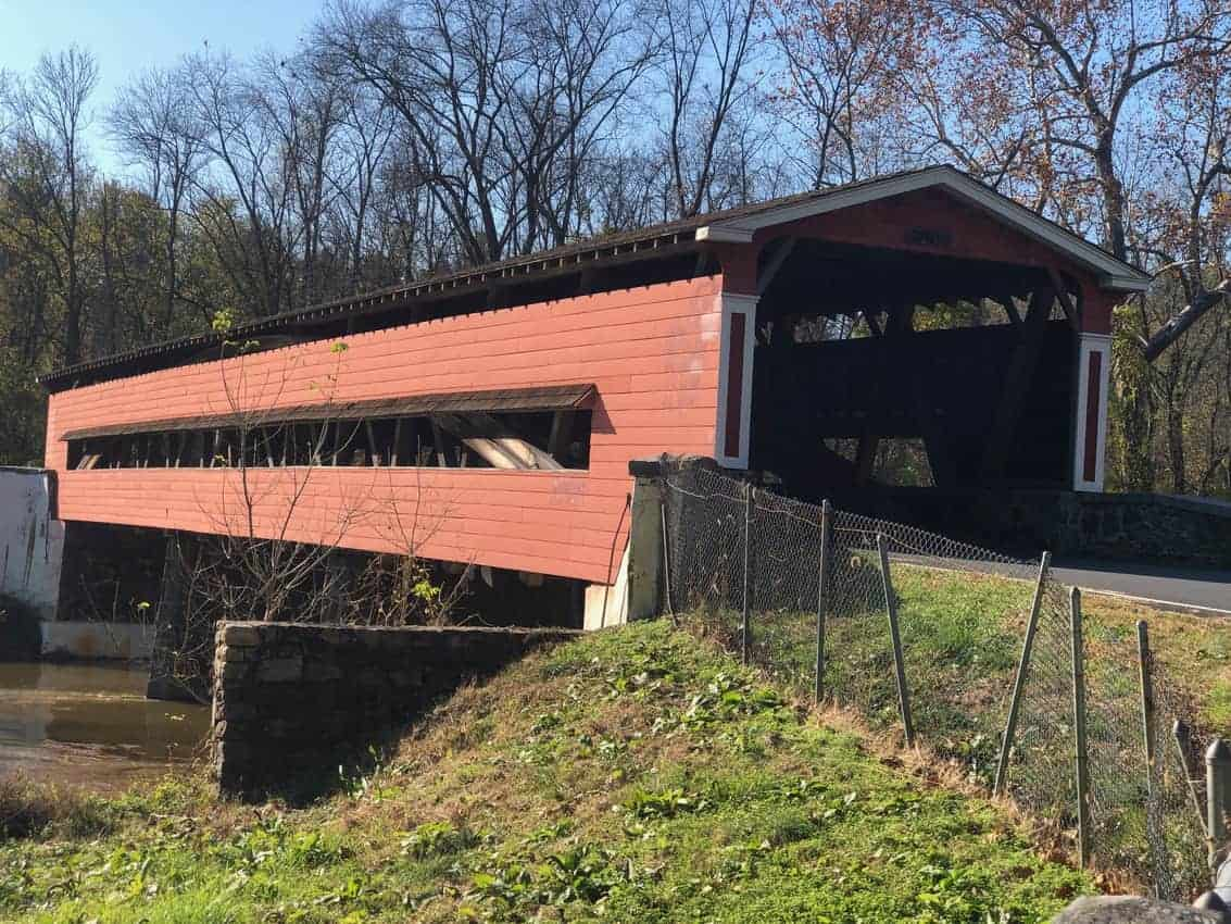 One of the three covered bridges outside of Wilmington Delaware.