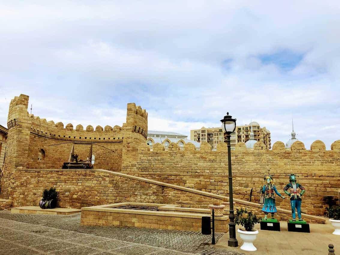 Inner walls of Bakus old city