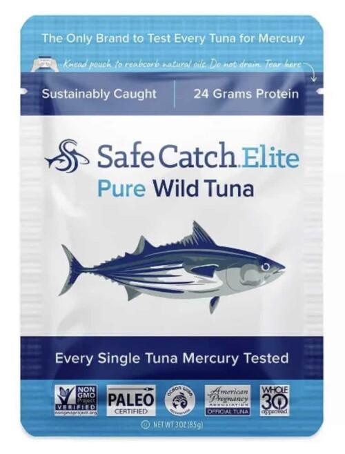 Safe catch tuna in foil packs