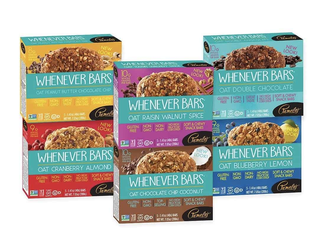 Pamela's Products Whenever Bars