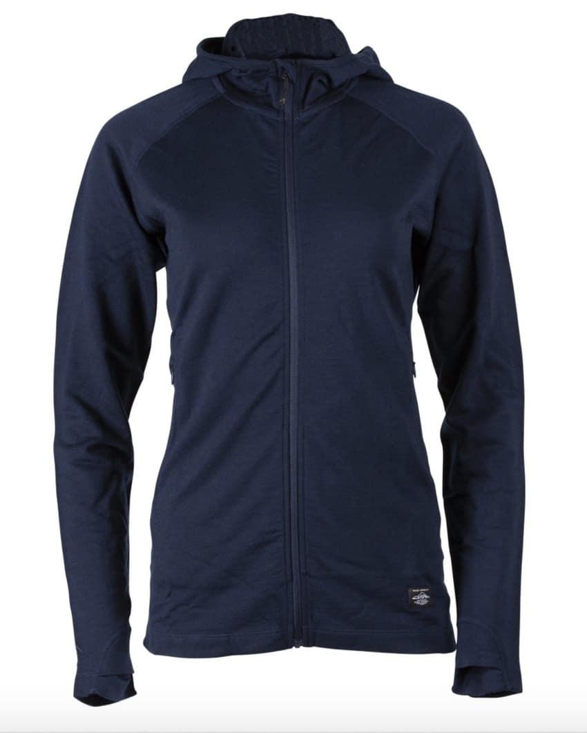 Ridge Merino women's hoodie