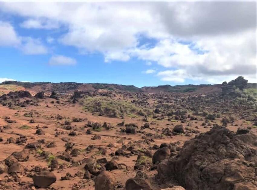 Stark Landscape of Lanai