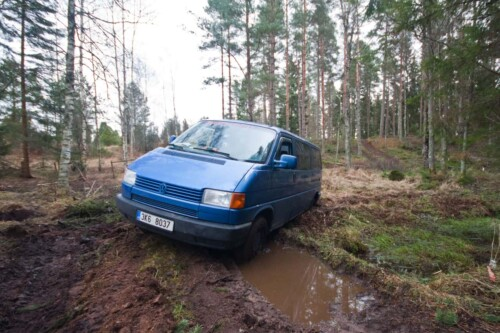 Getting bogged in a Swedish forest - I clearly overestimated my skills and underestimated the Swedish forest!