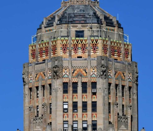 Buffalo City Hall Top