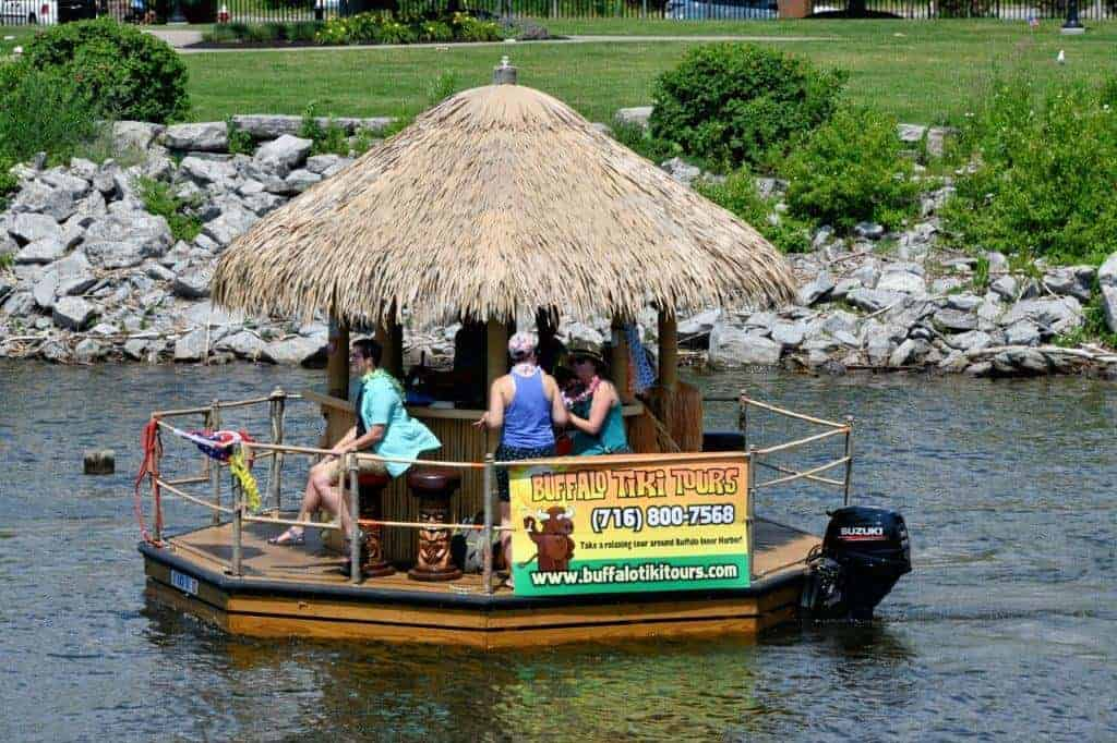 Buffalo River Tiki Bar Ride