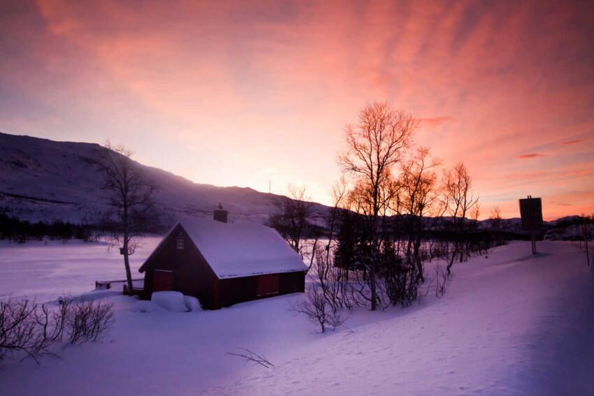 Narvik to Krakmo - it´s like having eternal sunsets.