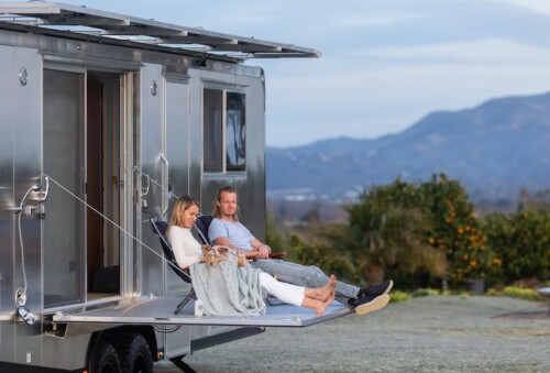 The Living Vehicle Off-Grid