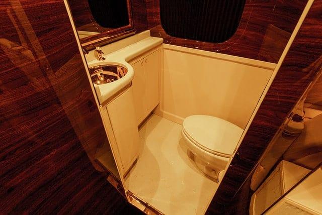 The G-77: Sky Master Restroom