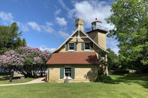 Wisconsin's Eagle Bluff Lighthouse