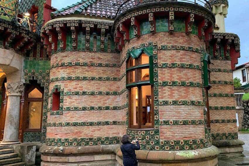 Antoni Gaudí's Home in Comillas in Cantabria