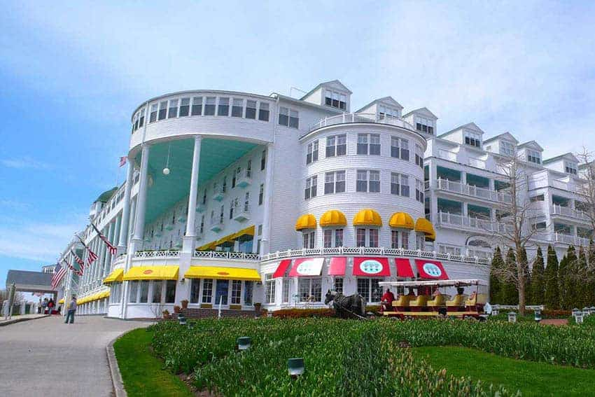 Mackinac Island's Famous Grand Hotel and Love Story