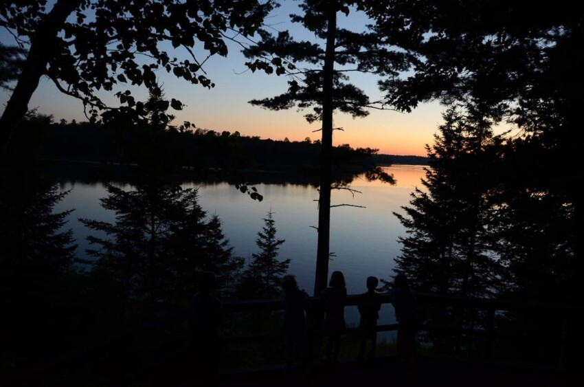 Lake Itasca Peace Pipe Vista