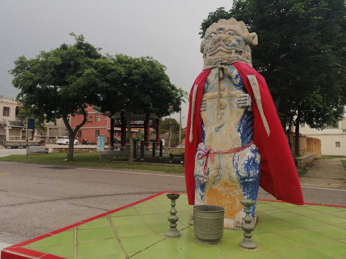 Wind Lions, unique to Kinmen Island, are said to protect the island from the fierce weather during typhoon season