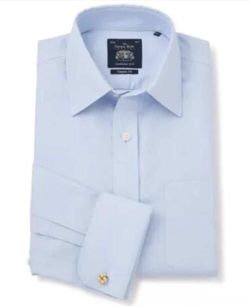 Savile Row dress shirt