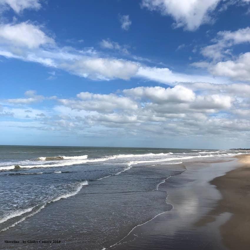 Shoreline taken by Gladys Camere 2018