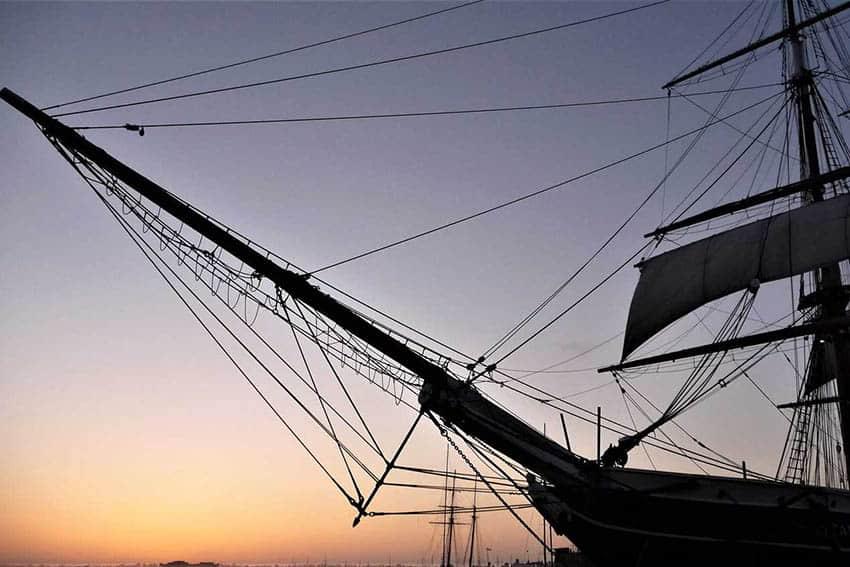 Wooden Ships, Iron Men and Patrick O'Brian