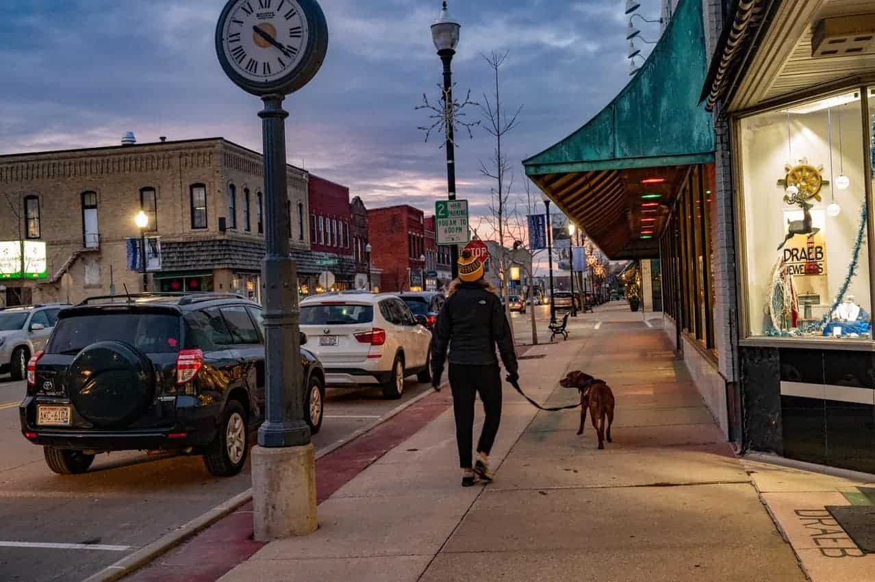 Sturgeon Bay, with a population of 9,000, is the largest city in Door County, Wisconsin. Donnie Sexton photos.