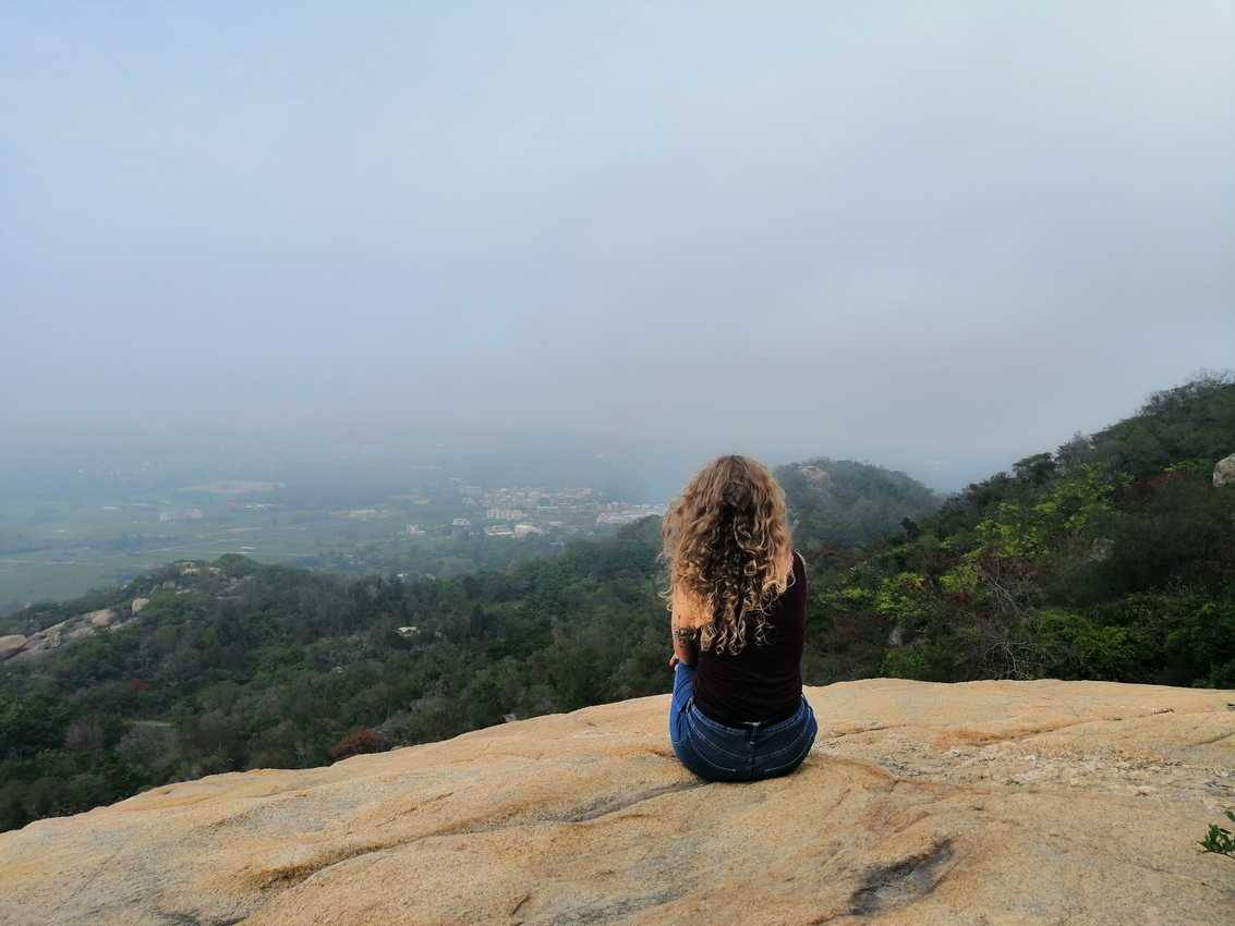 Sitting atop Taiwu Mountain's granite peaks overlooking Kinmen
