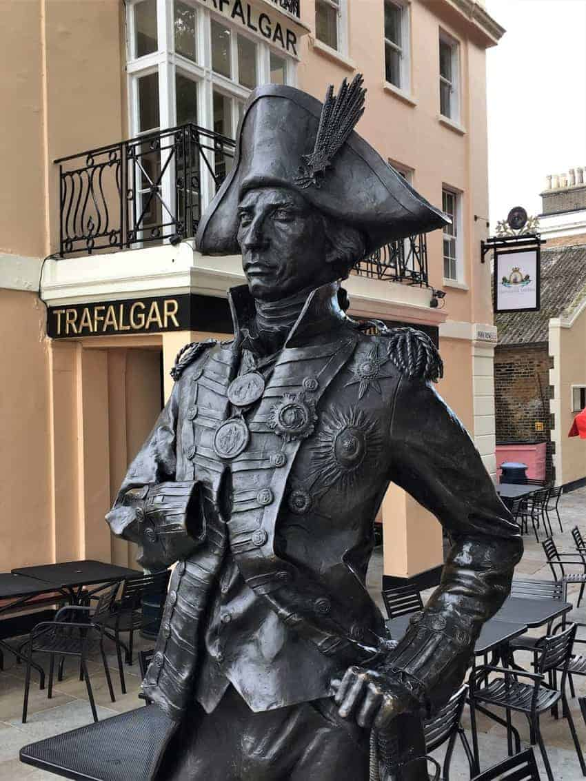 The Trafalgar Tavern near the Maritime Museum in Greenwich, England was a favorite of Charles Dickens