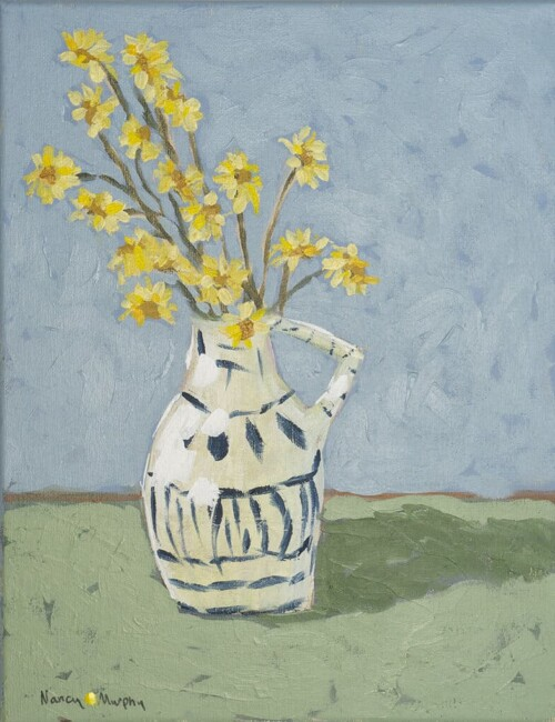 daisies painting by Dorothy Walker.